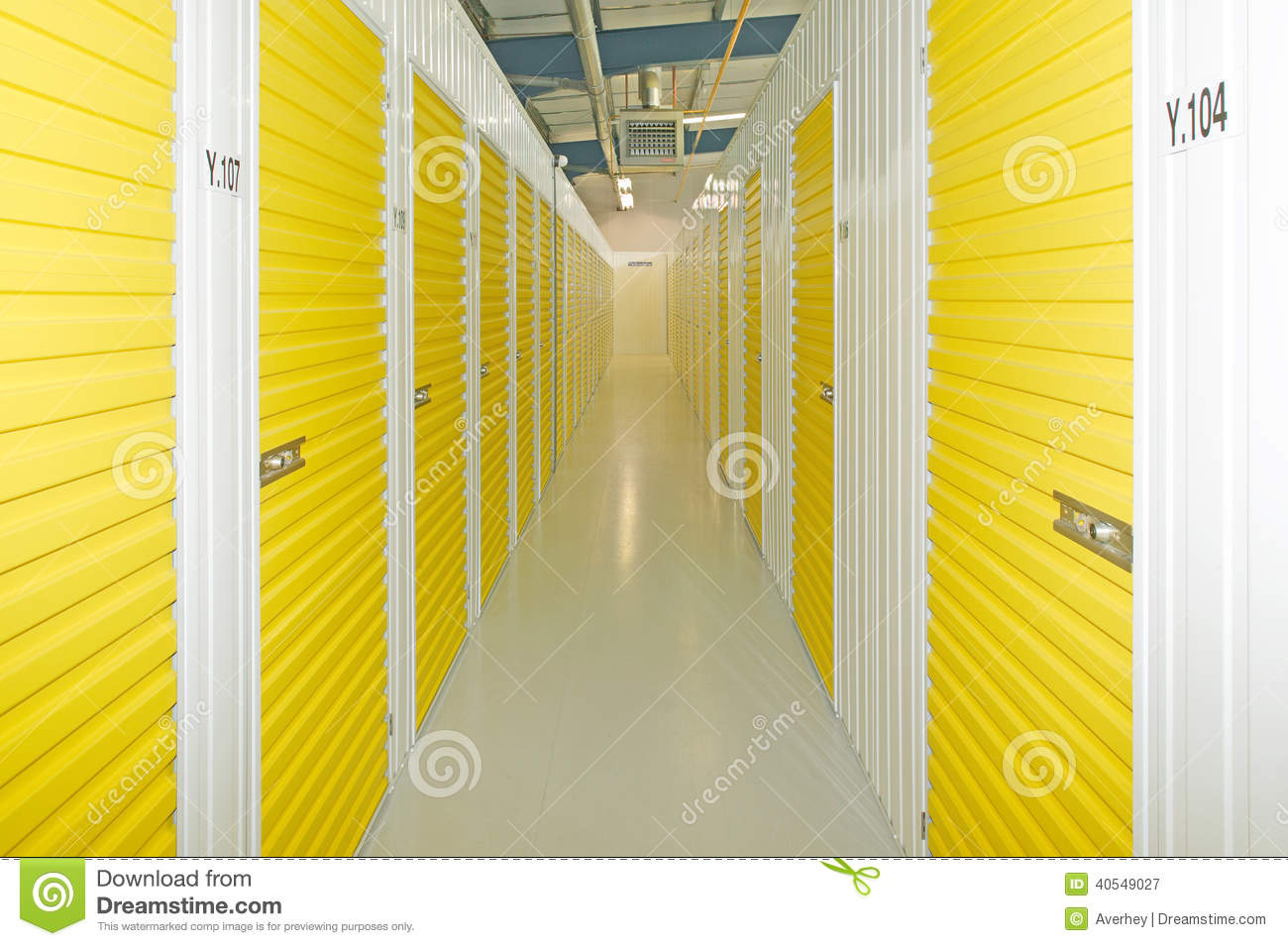 Self Storage Units Stock Image Image Of Room Convenient