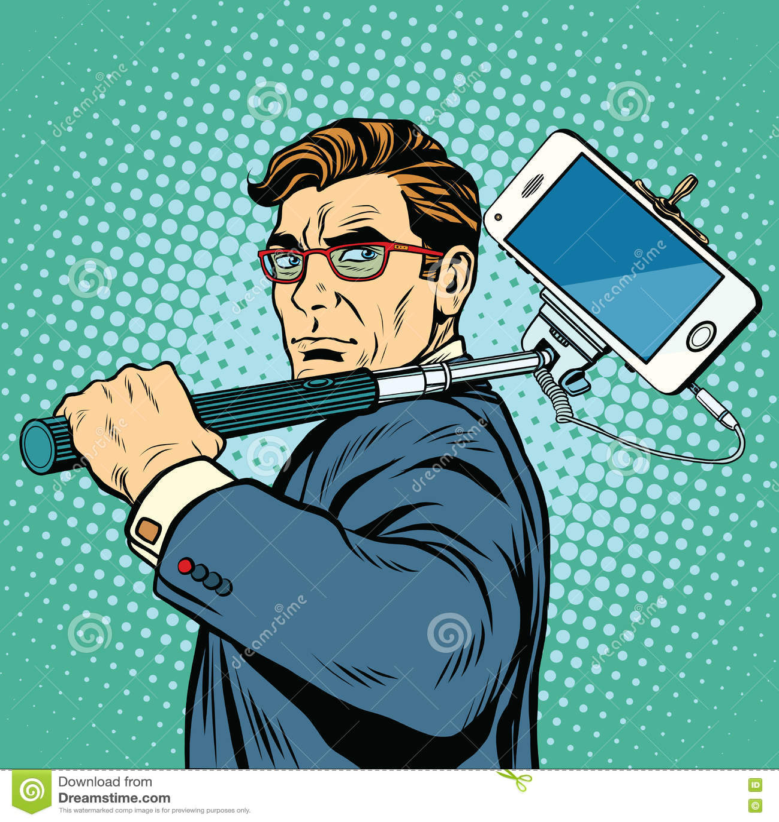 Selfie人博客作者智能手机