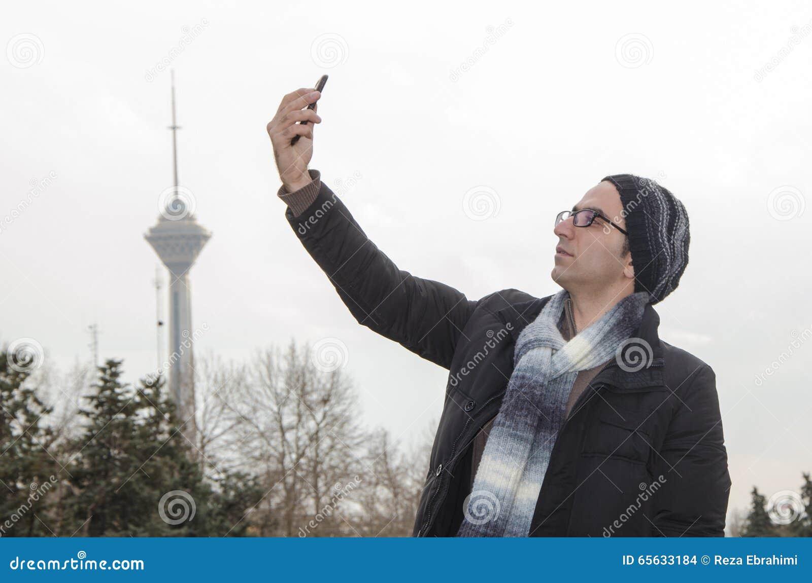 Selfie à Téhéran