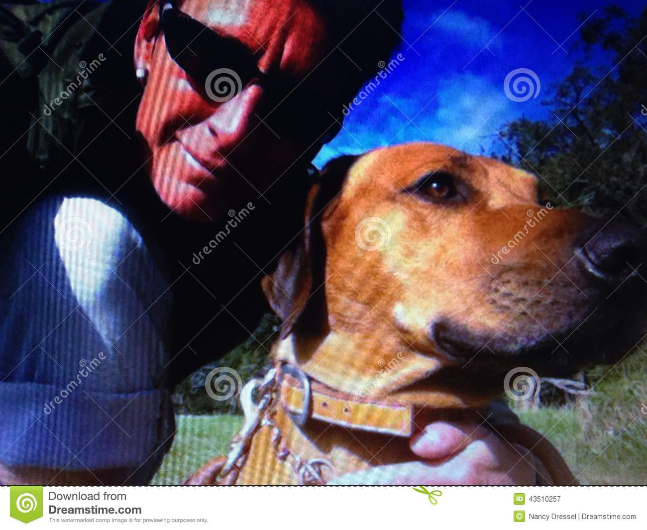 Selfie of me and my dog