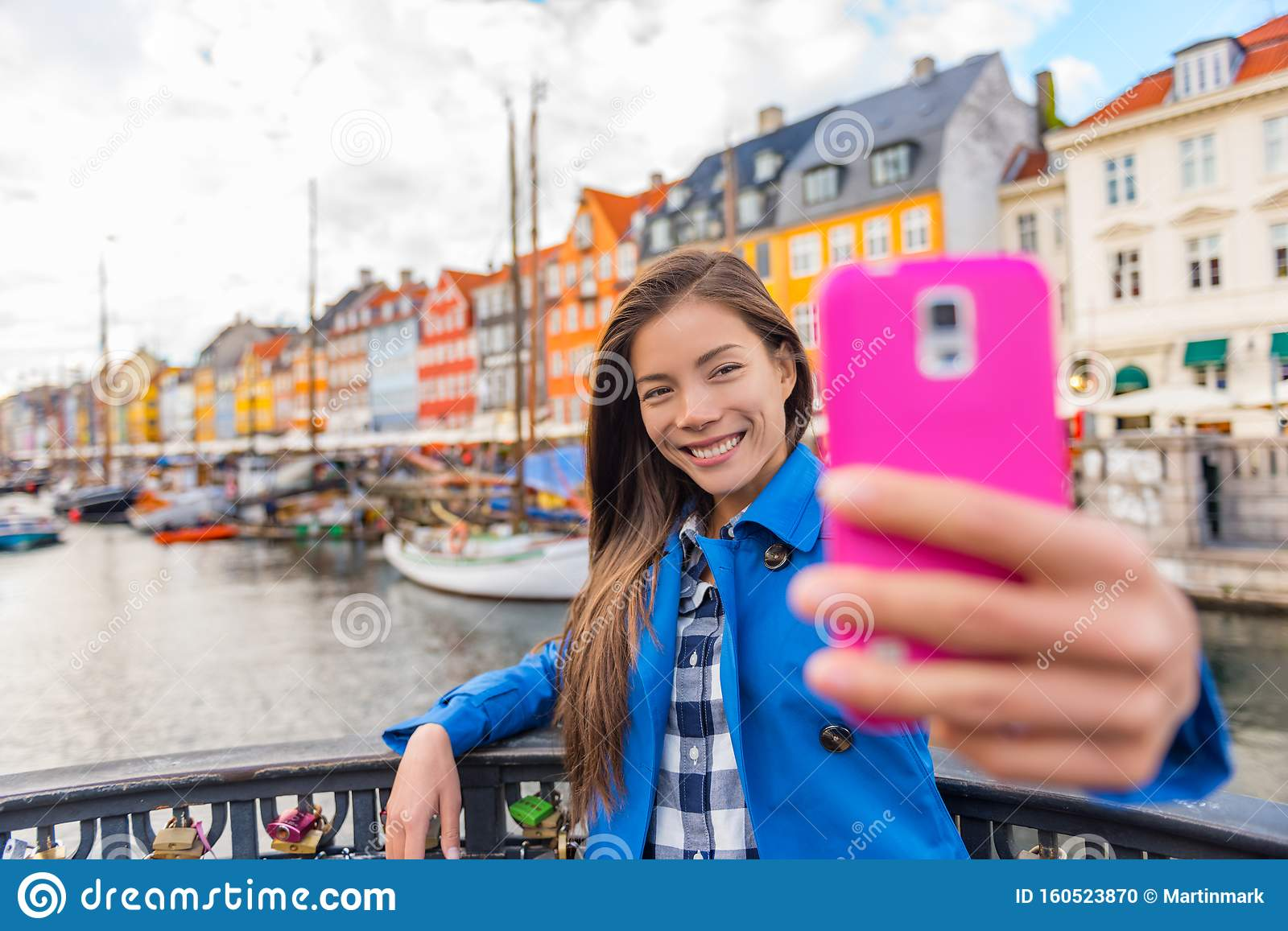 Famous Girl Stock Images, Royalty-Free Images & Vectors ... |Europe Tourist Taking