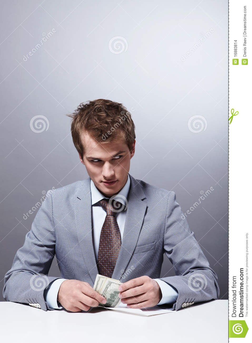 Selfish Man Stock Images Image 16883814