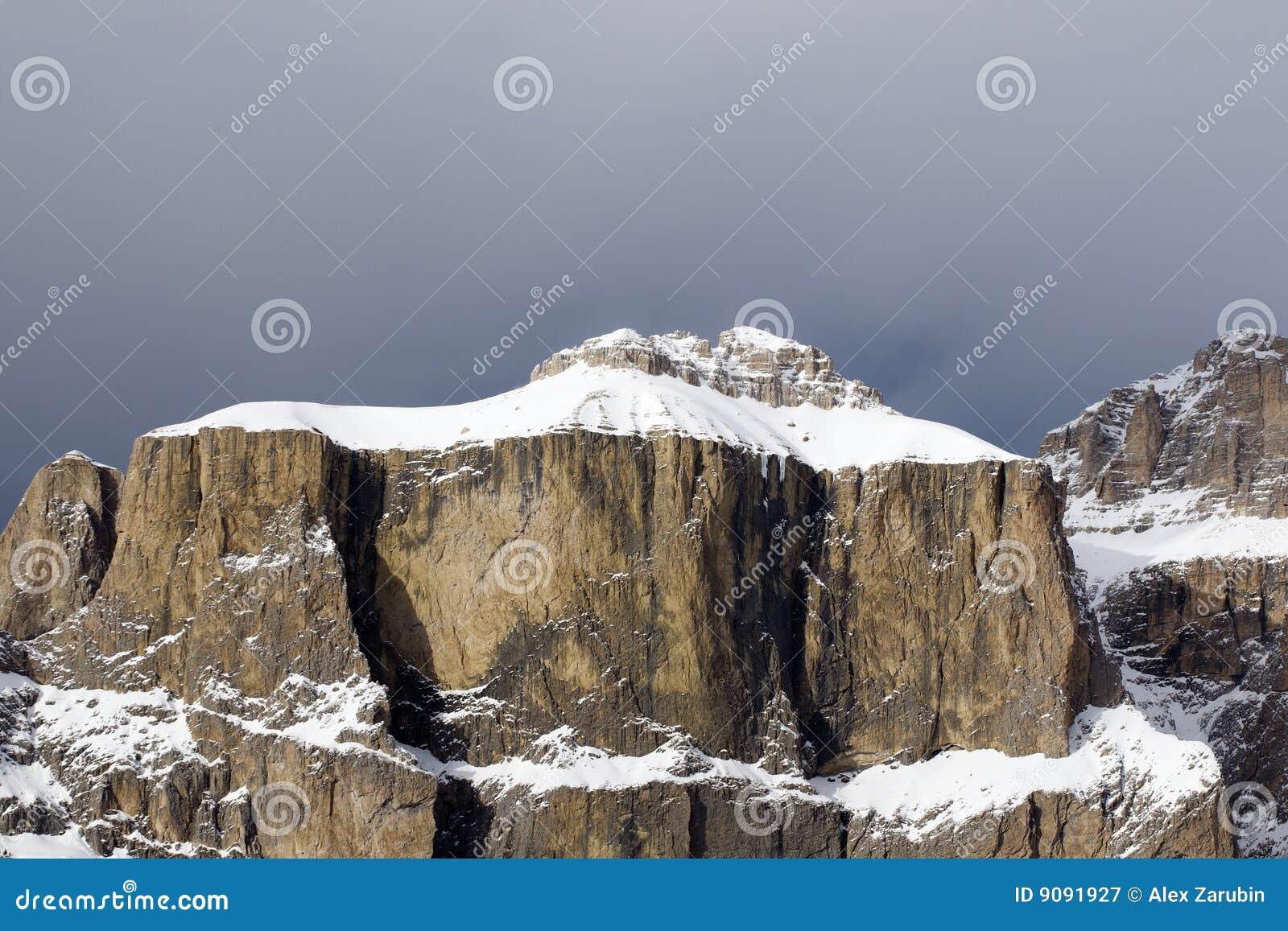 Sella Berge in italienischem Dolomiti