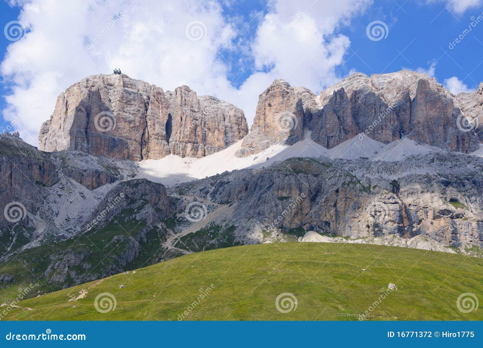 The Sella Massif Group - Dolomites, Italy Stock Photography - Image ...