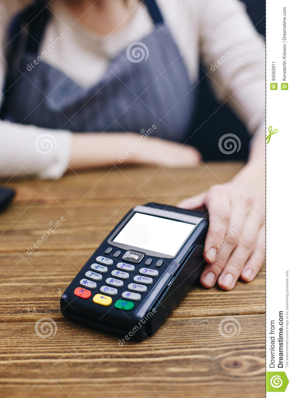 Seller and POS machine