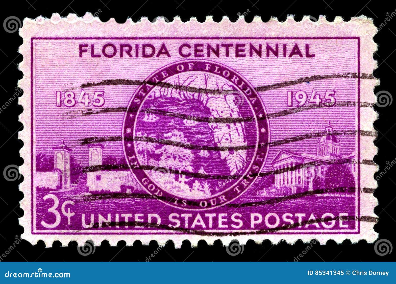 Sello centenario de Florids
