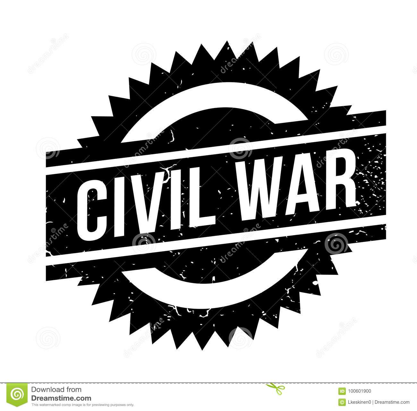 Sello de goma de la guerra civil