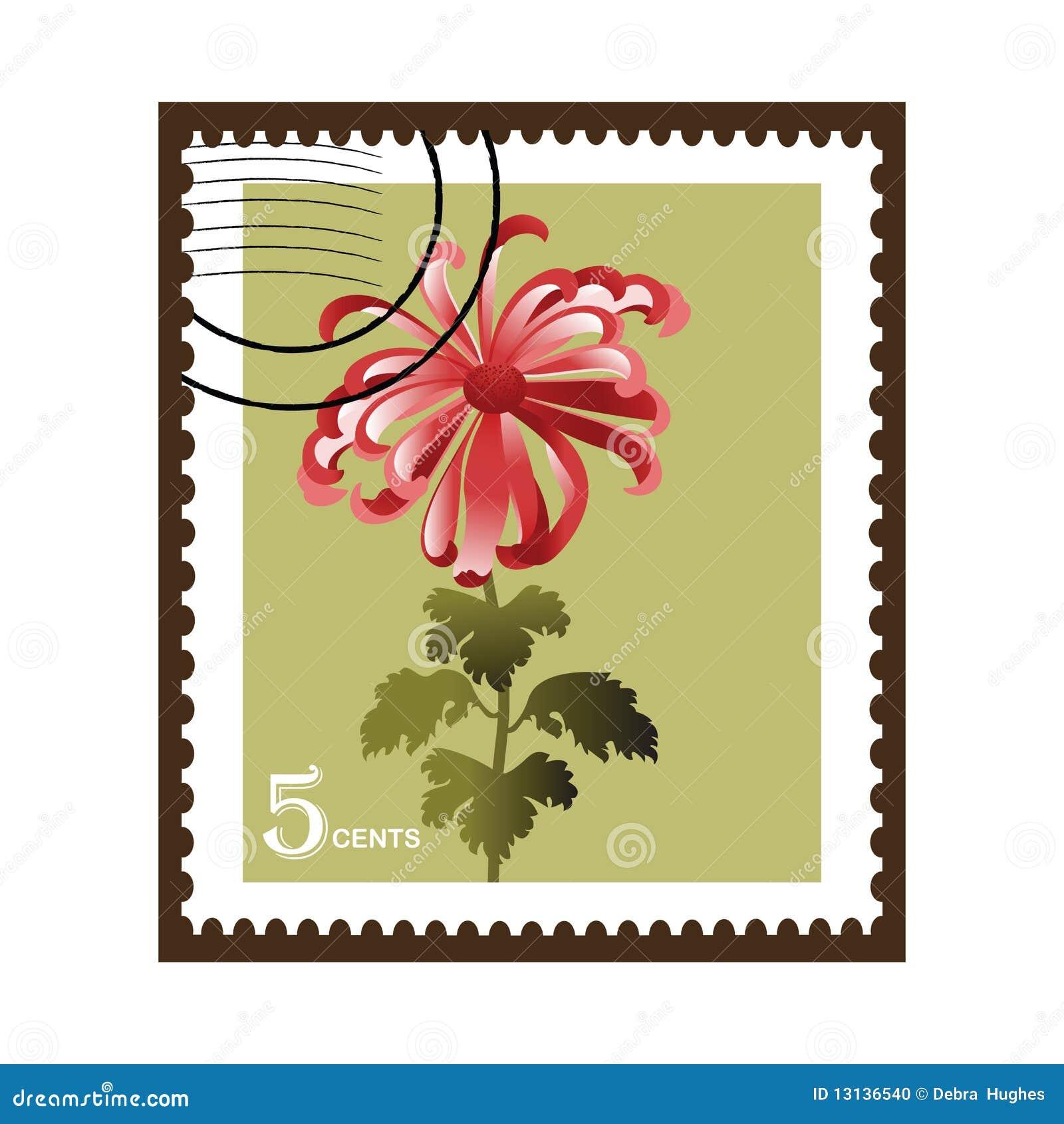 Sello de la flor