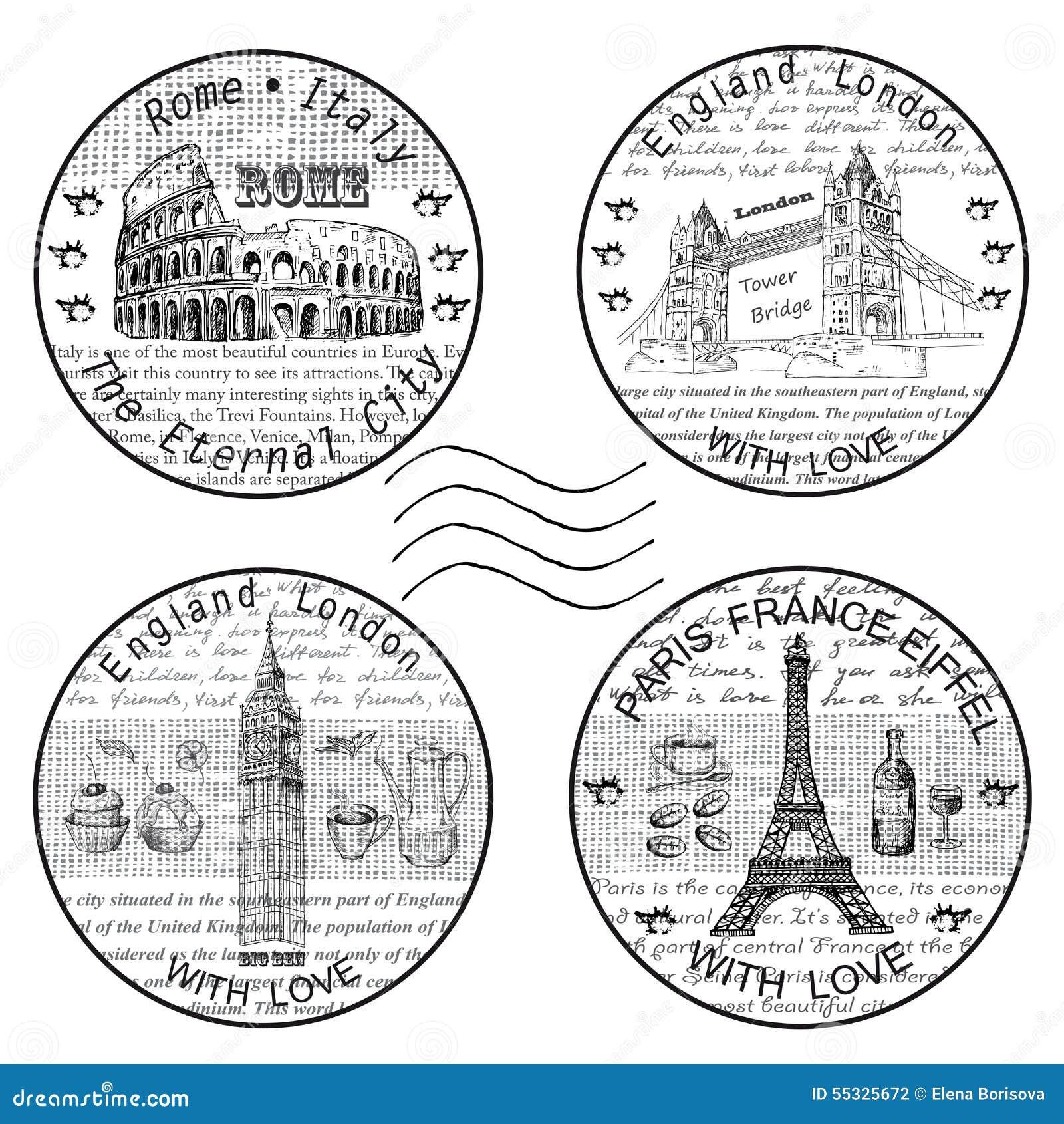 Sello Roma París