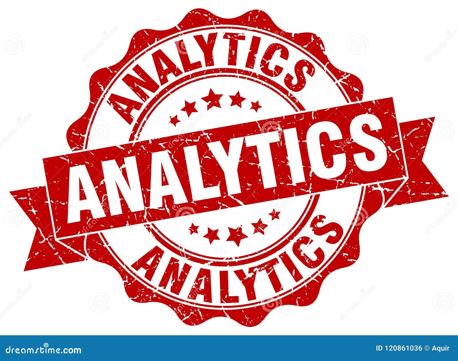 Selo da analítica selo