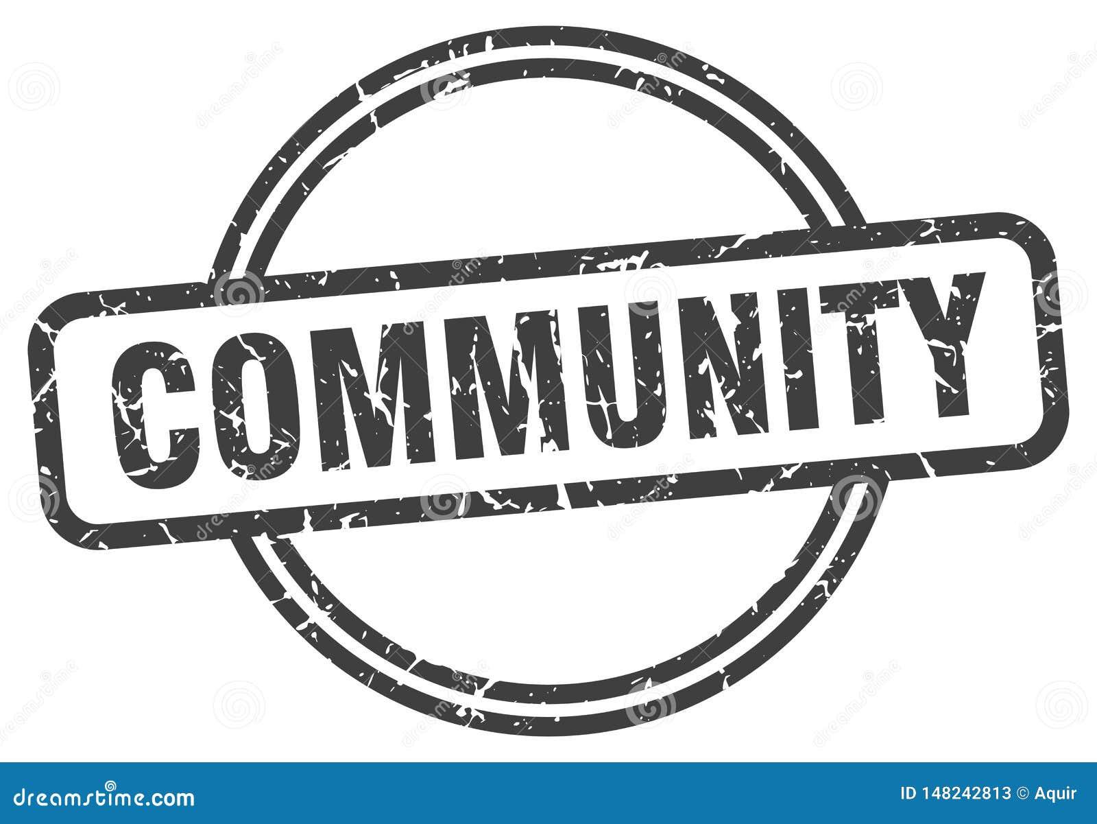 Selo da comunidade