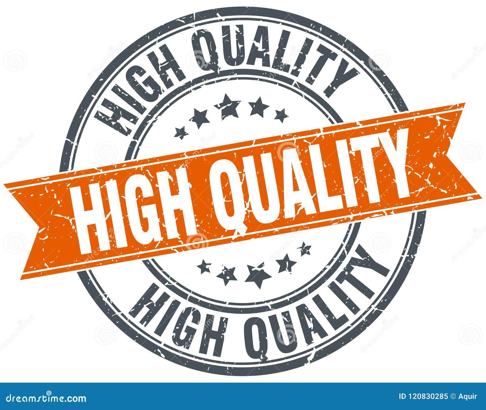 Selo de alta qualidade