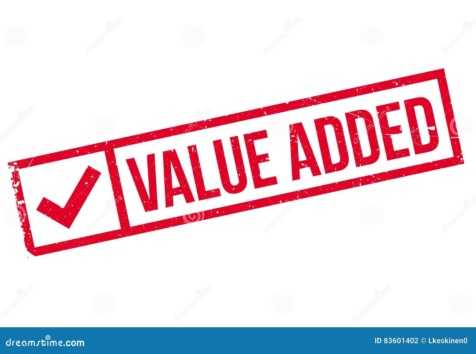 Selo de valor acrescentado