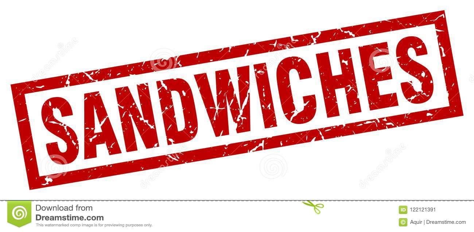 Selo dos sanduíches