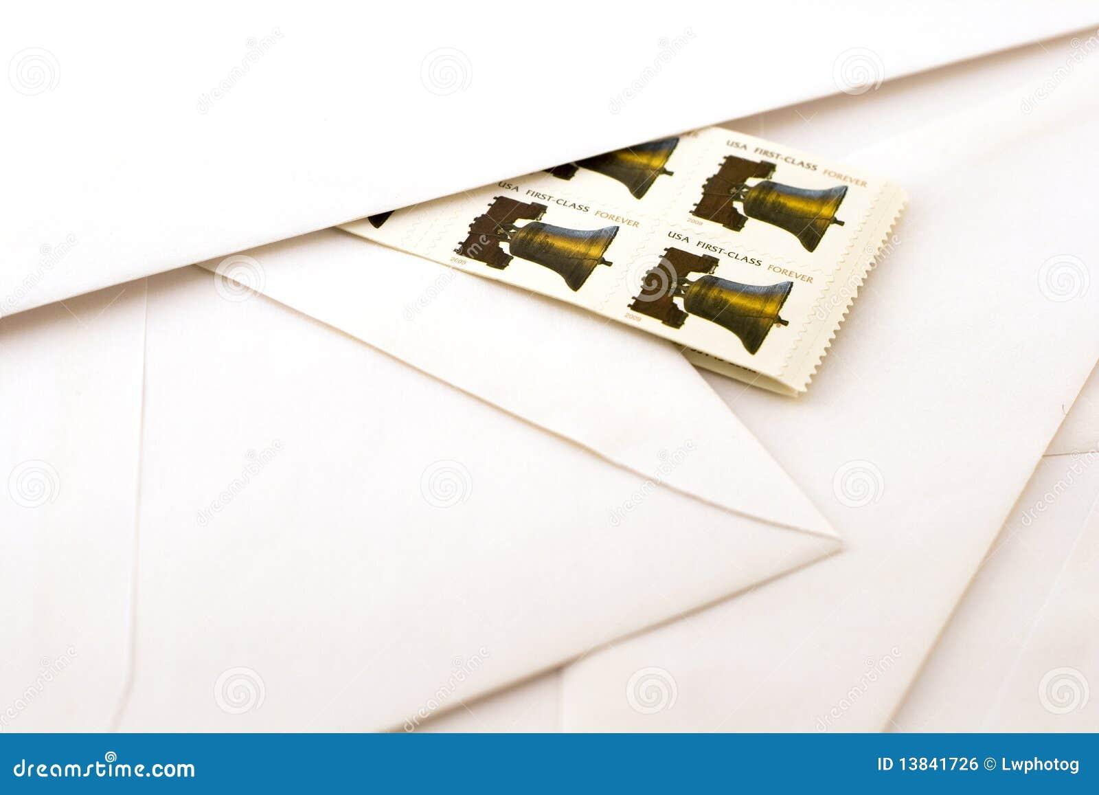 Selos e envelopes