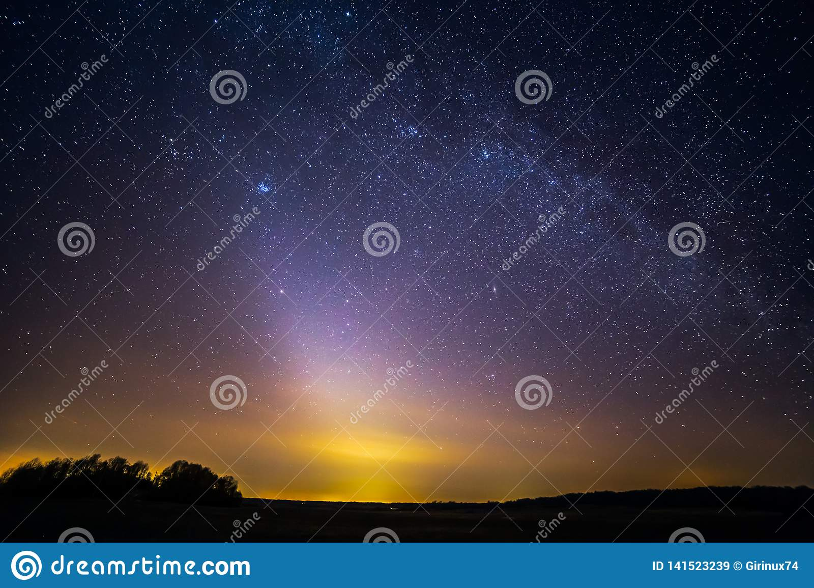 Seltenes Phänomen - Zodiacal Licht