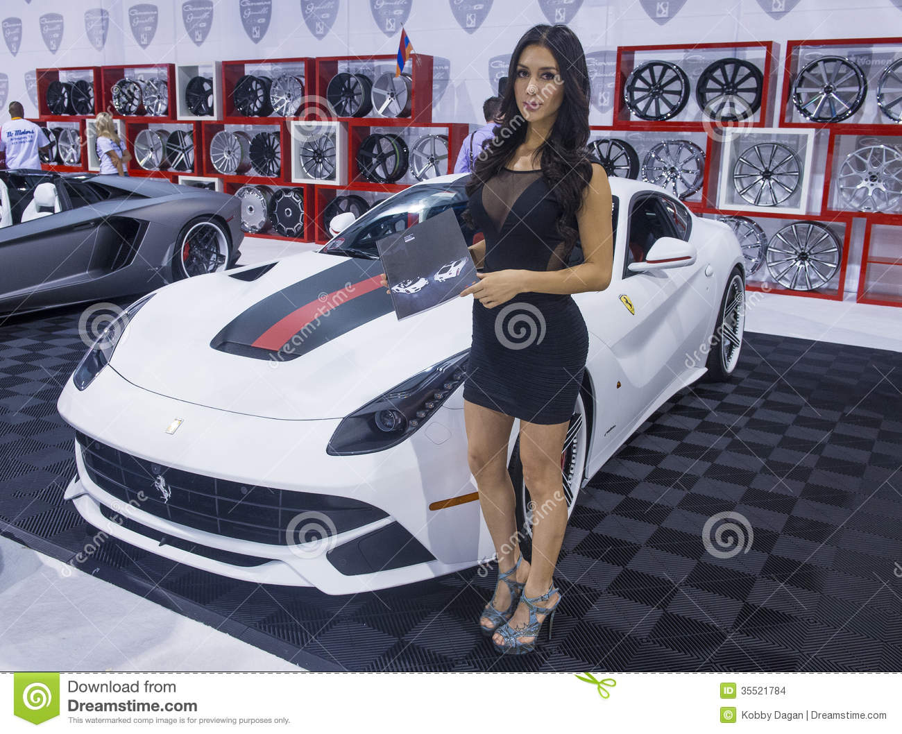 SEMA Car Show Editorial Stock Image Image Of Automotive - Car show in vegas today