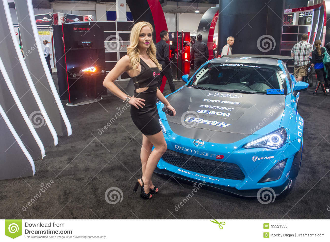 SEMA Car Show Editorial Image Image Of America - Car show in vegas today