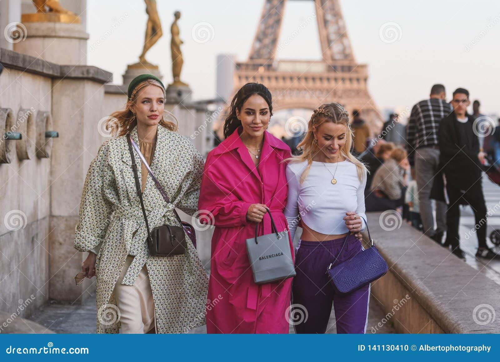 Semaine de mode de Paris - style de rue - PFWAW19