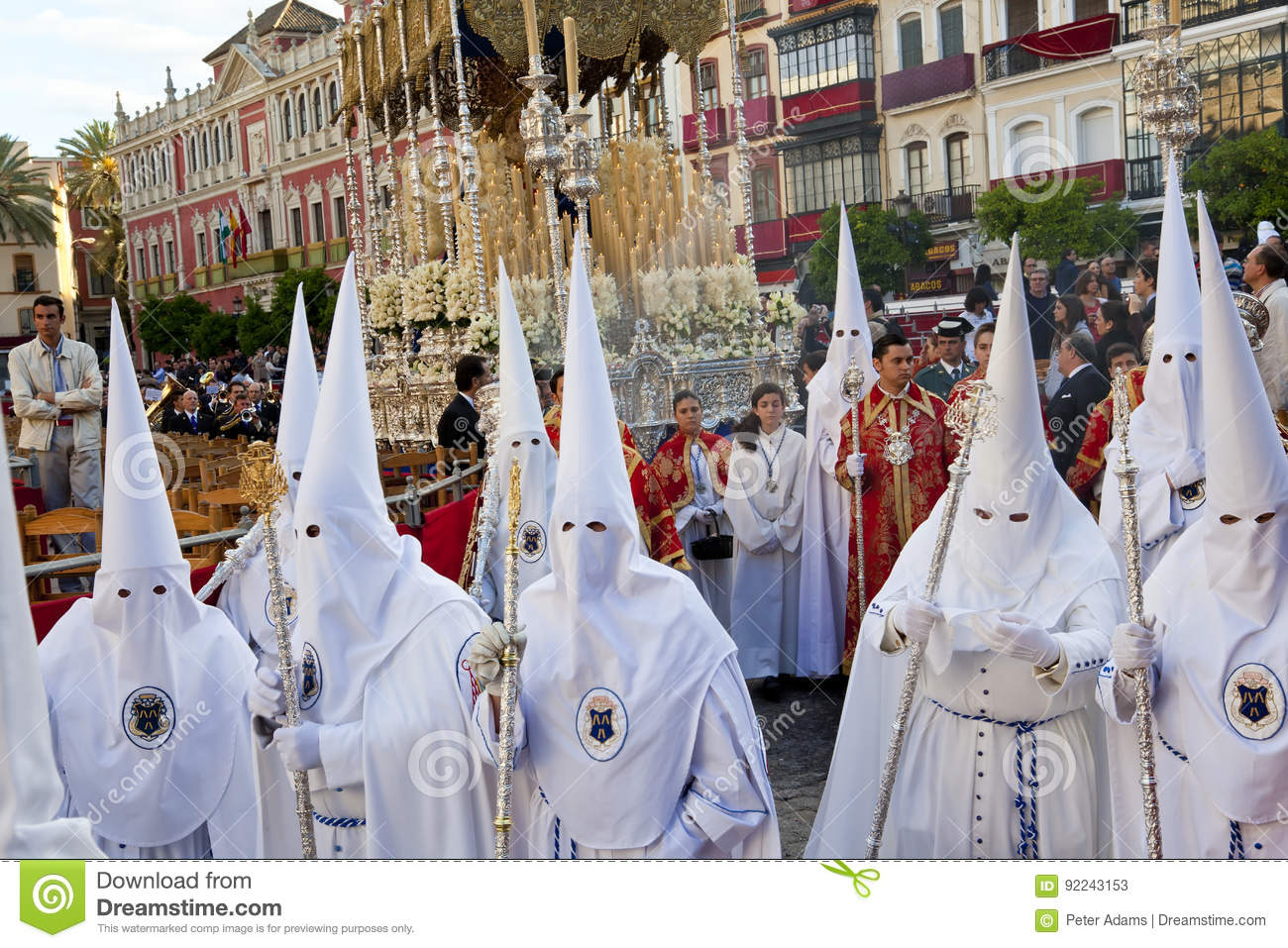 Semana Santa Fiesta editorial stock photo. Image of town ... |Semana Santa Fiesta