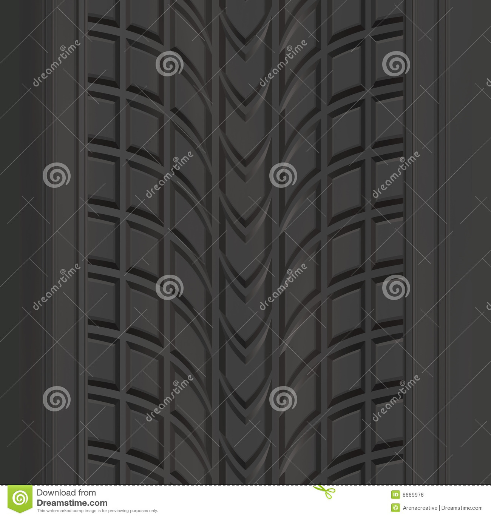 Semelle de pneu de configuration