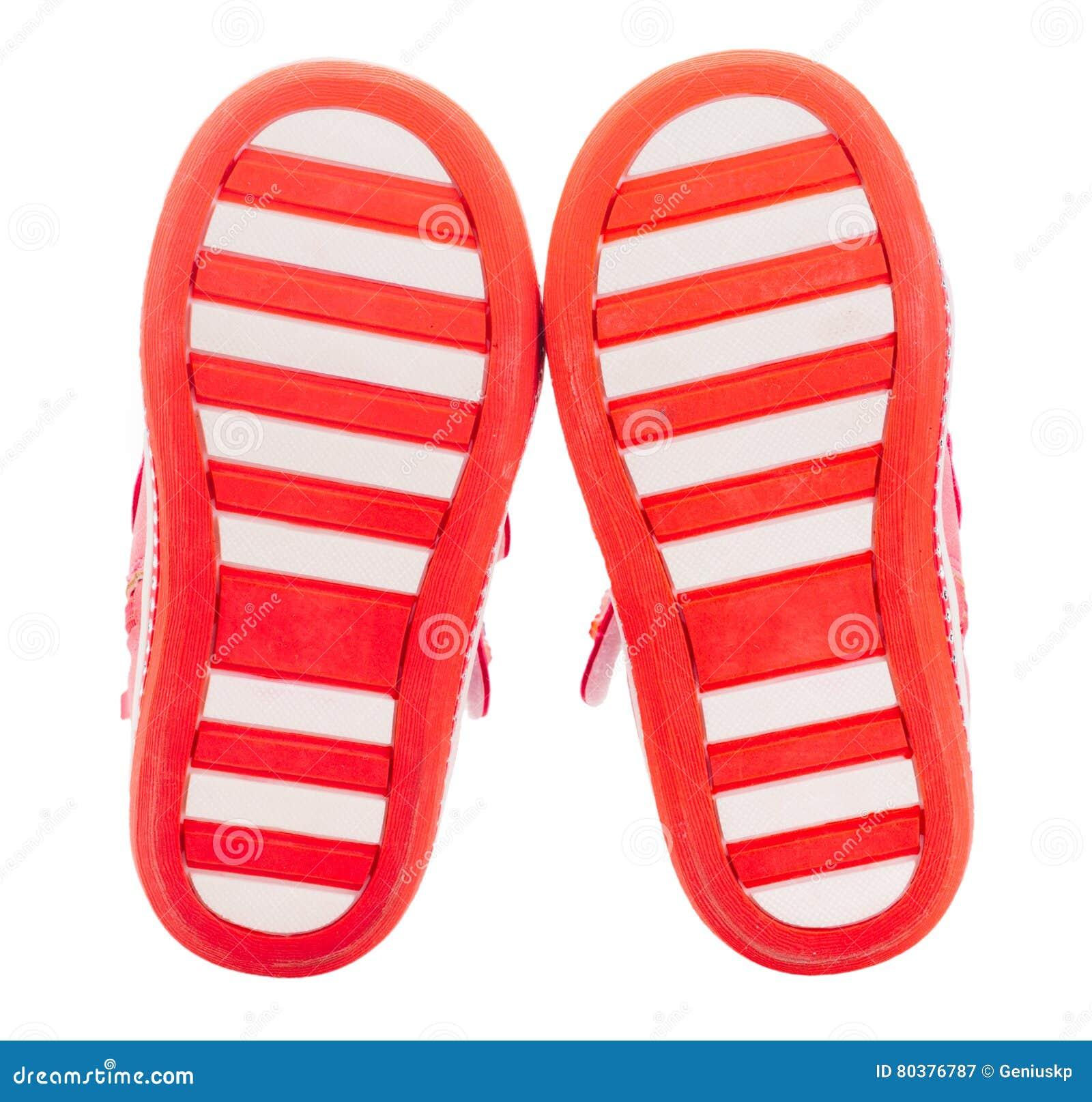design intemporel c9370 d9196 Semelles Rouges De Chaussures De Bébé Image stock - Image du ...