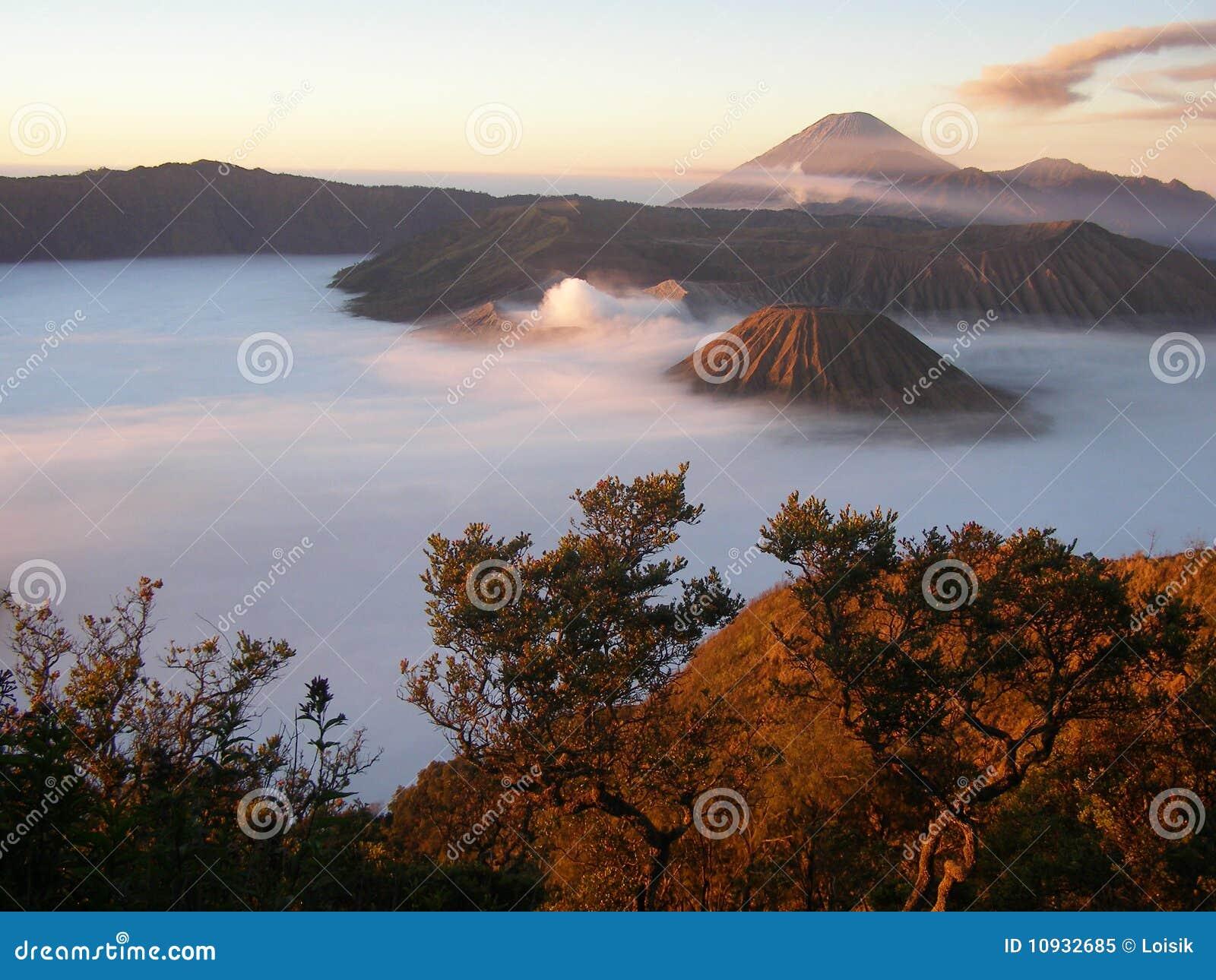 Semeru Индонесии