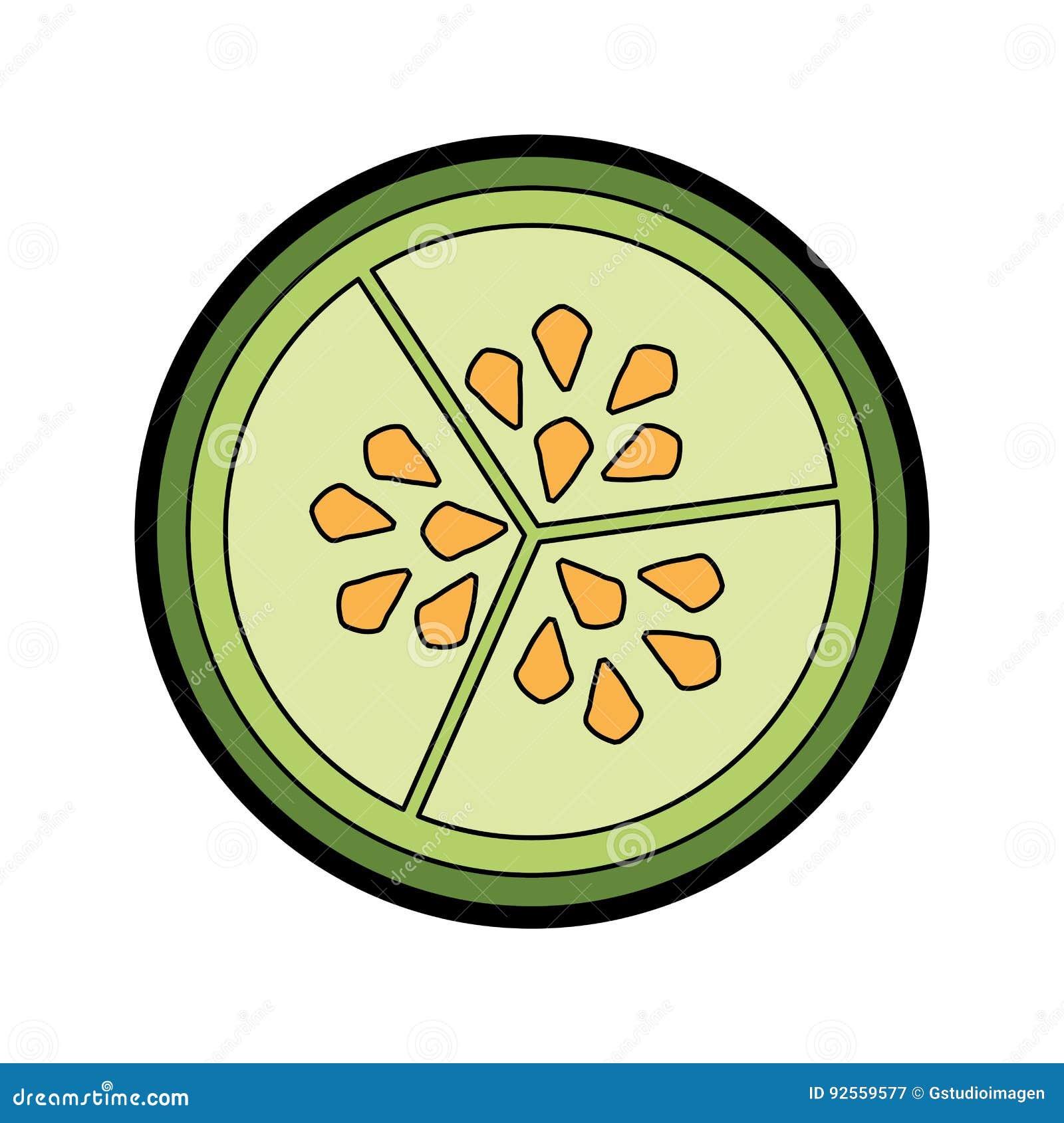 Semi della verdura del cetriolo