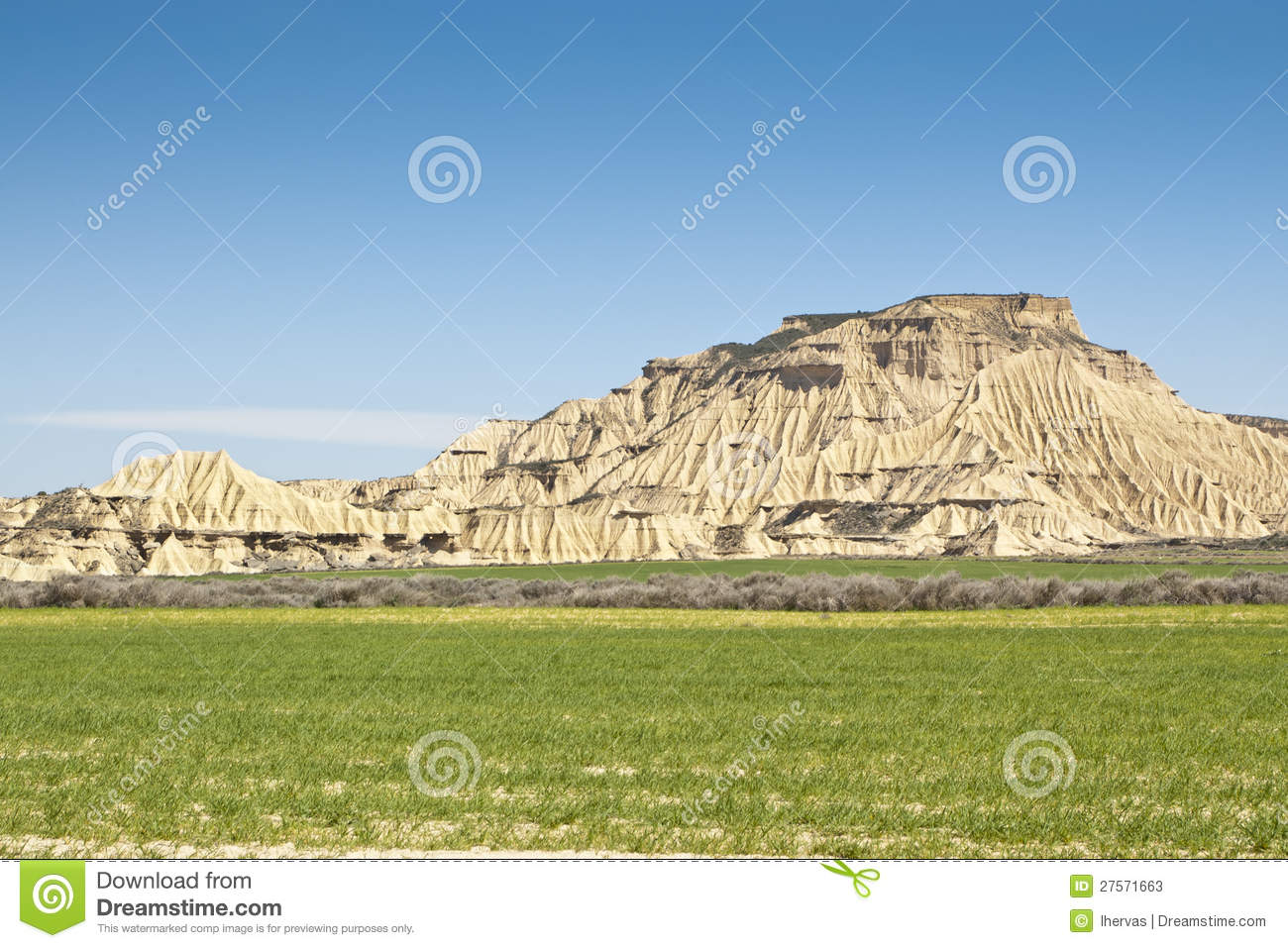 Semi Desert Landscape Stock Photos Image 27571663