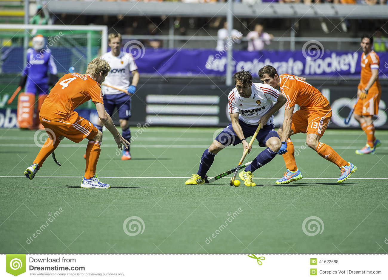 Semi-finals Netherlands vs England
