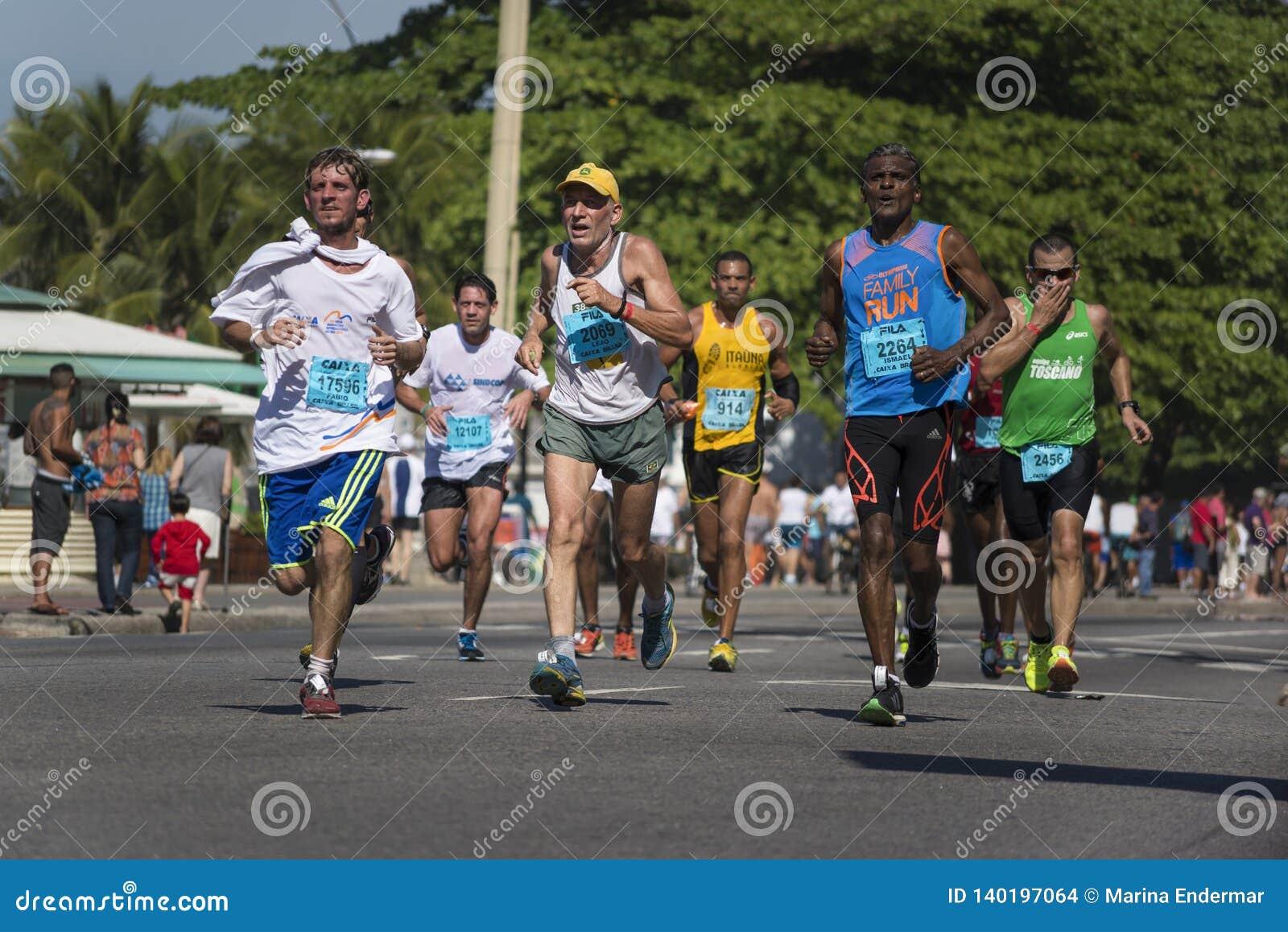 Semi-marathon par Copacabana, Rio de Janeiro, Brésil