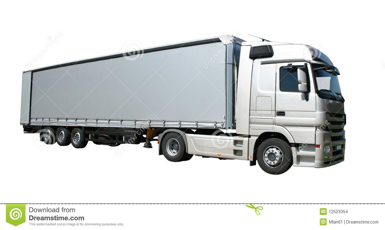 Semi Remorque De Camion Photo Stock Image Du Camionnage