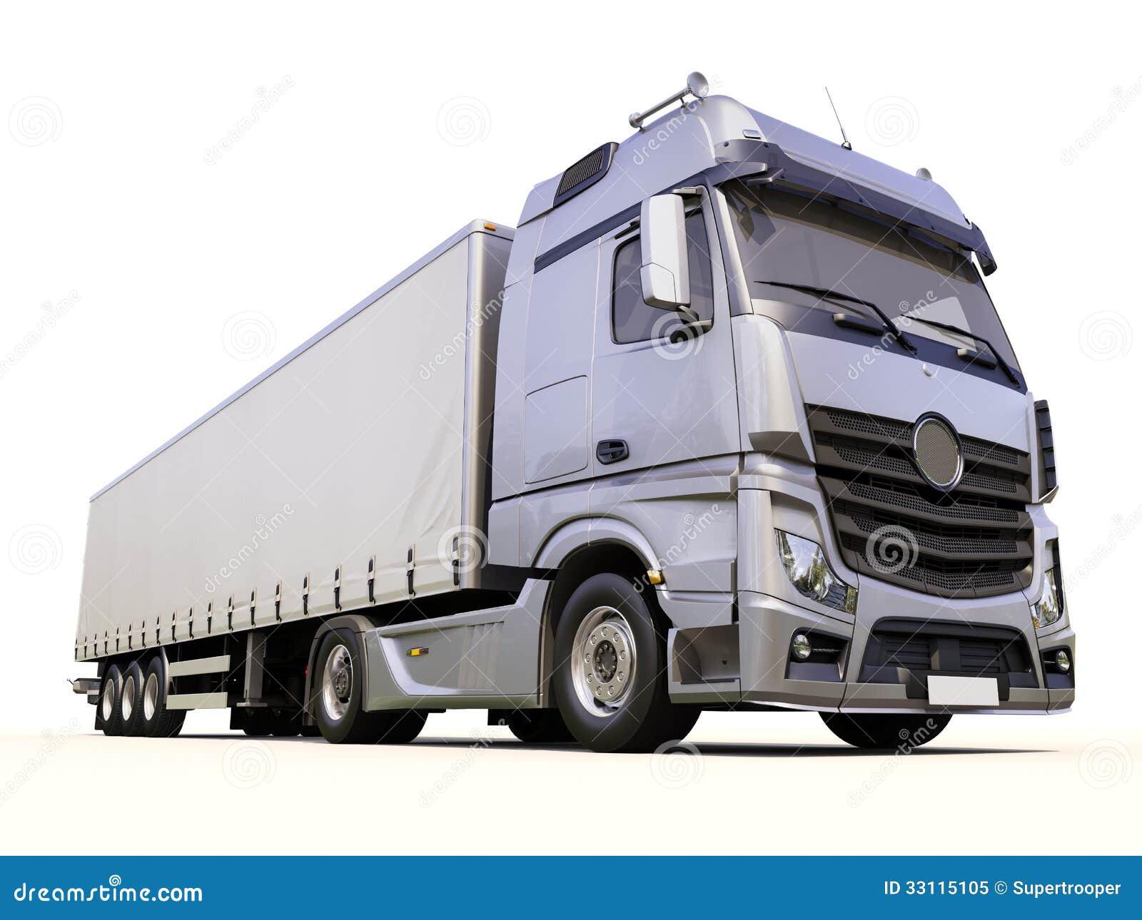 18 Wheeler Prices >> Semi-trailer Truck Royalty Free Stock Photo - Image: 33115105