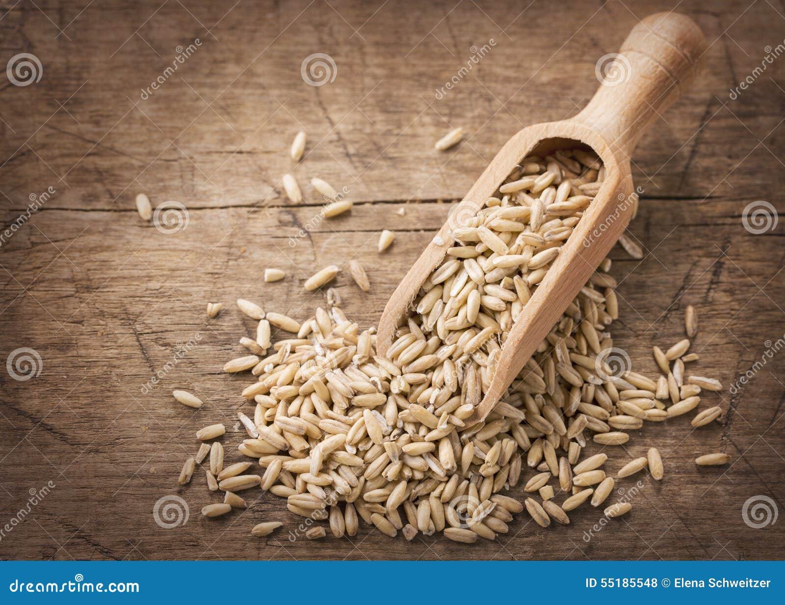 Semillas de la avena