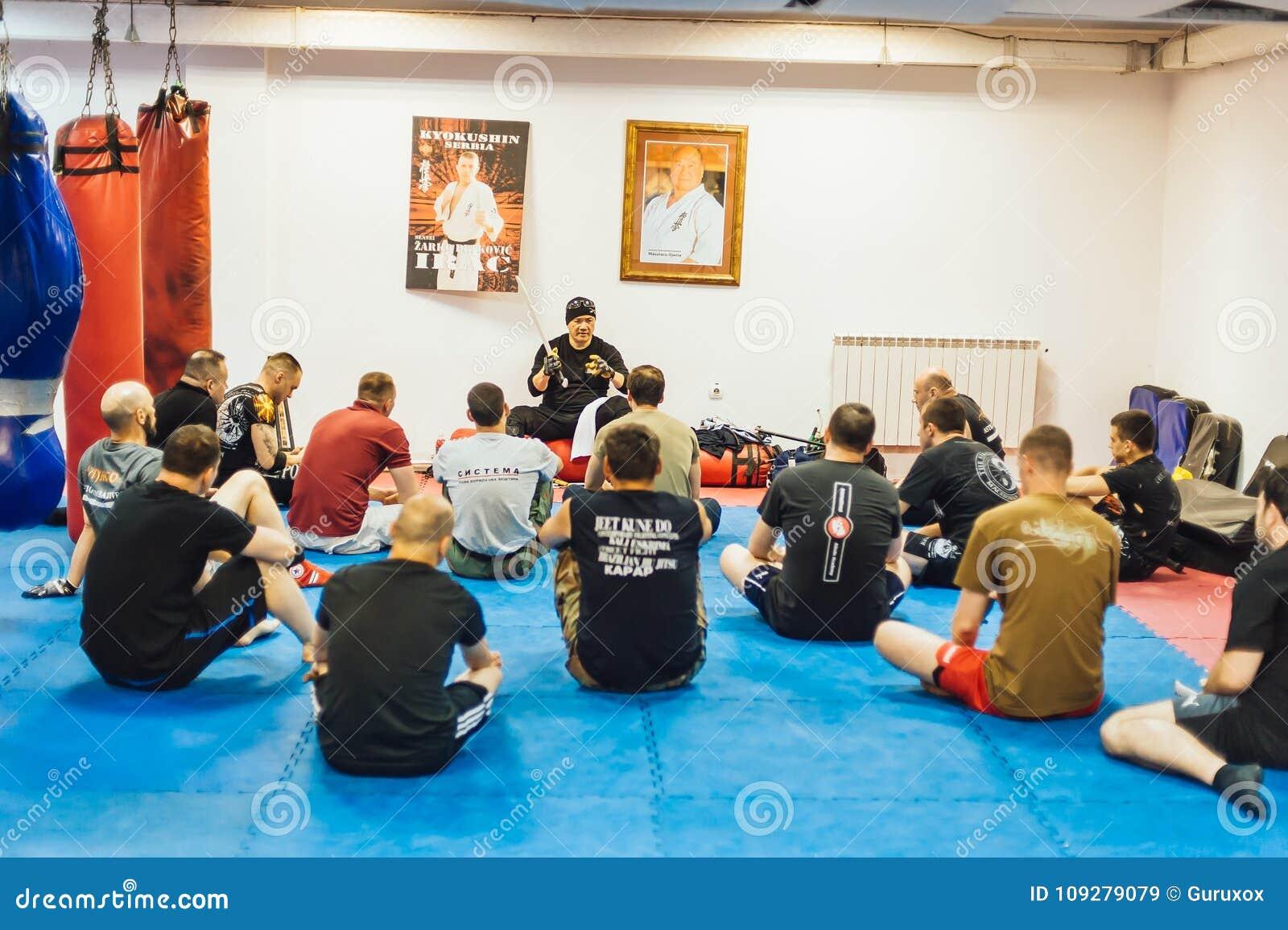 Seminar Belgrad Guro Roger Agbulos Lameco Astig Combative FMA
