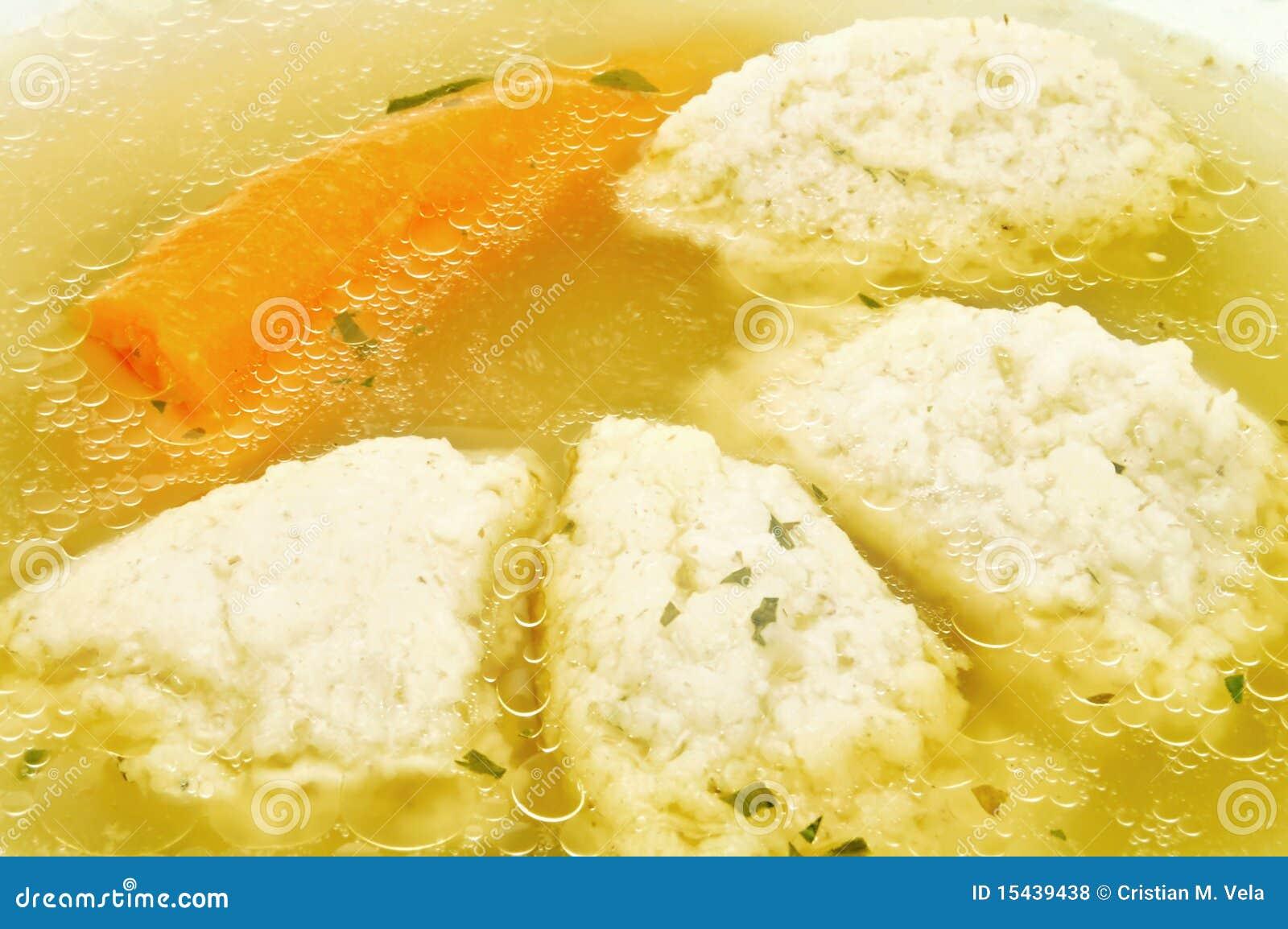 Semolina Dumpling Soup And Carrot Royalty Free Stock Photos - Image ...