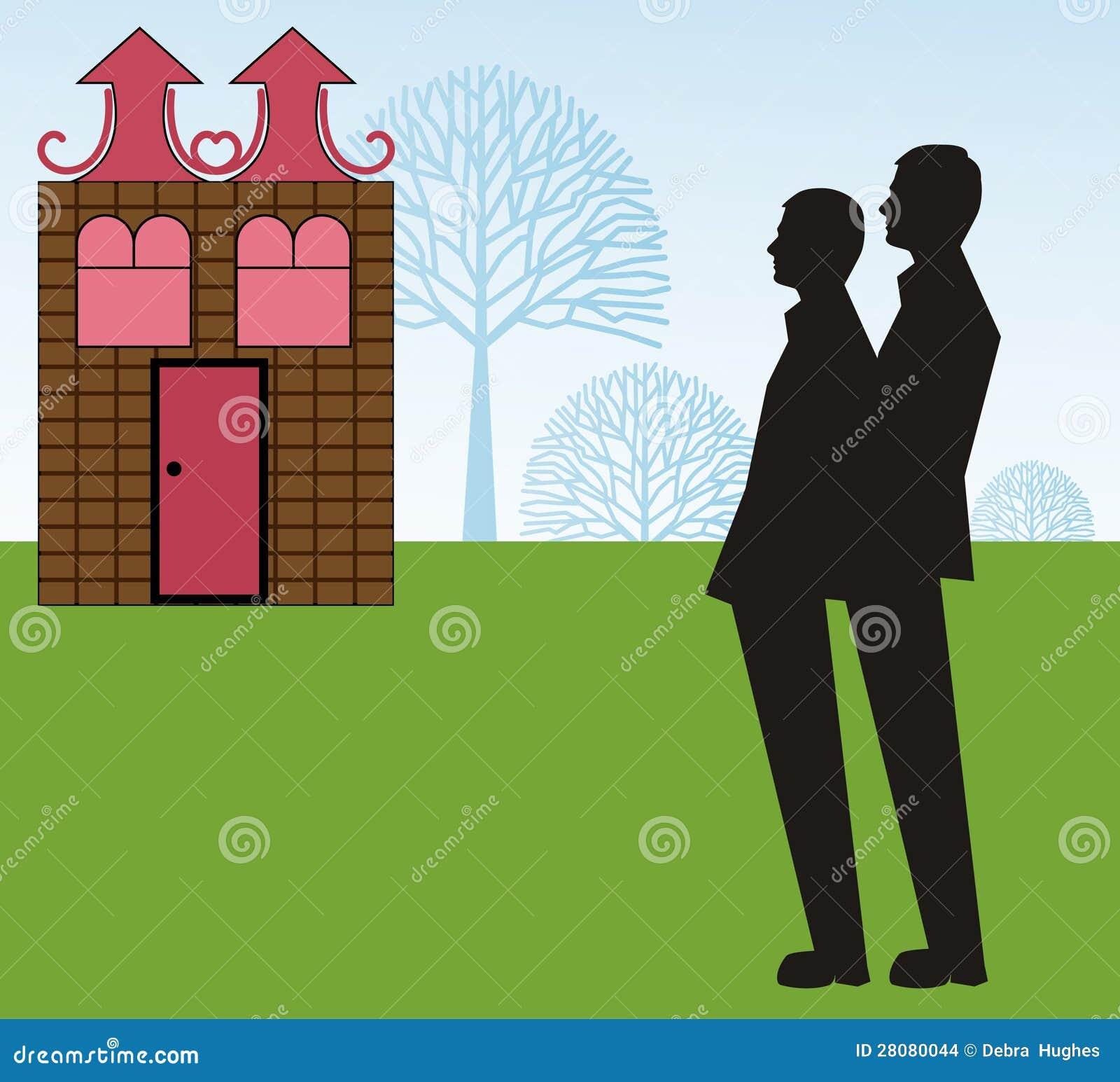Sen Domowa homoseksualna para