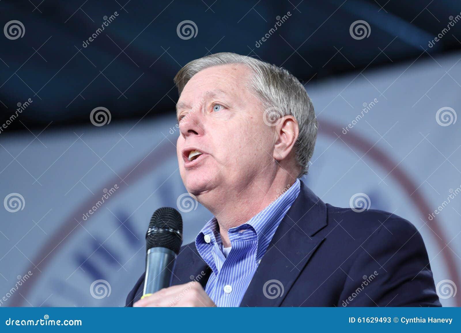 Senador de Carolina del Sur, Lindsey Graham de Estados Unidos