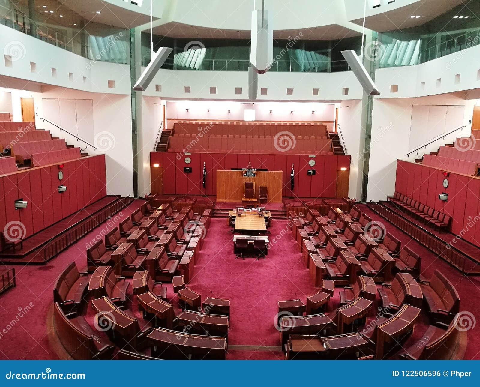 The Senate @ Canberra, Australia Editorial Photo - Image of