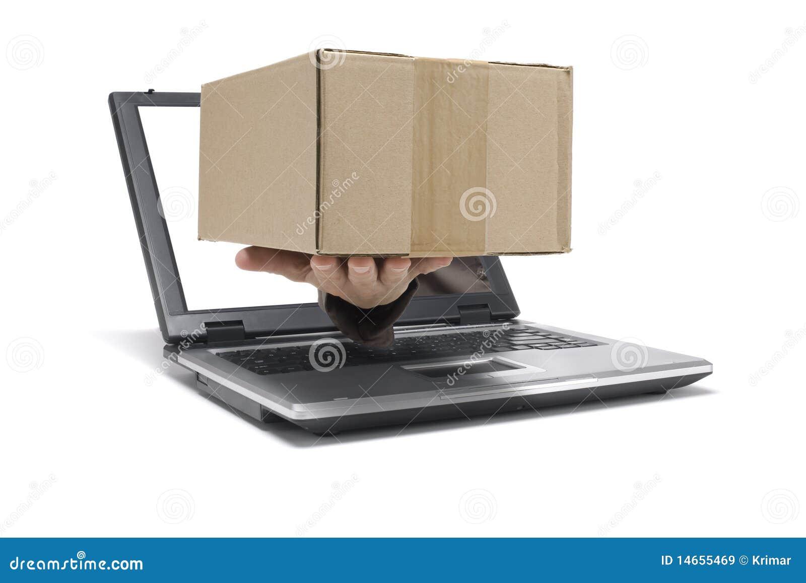 Senden Sie ein Paket