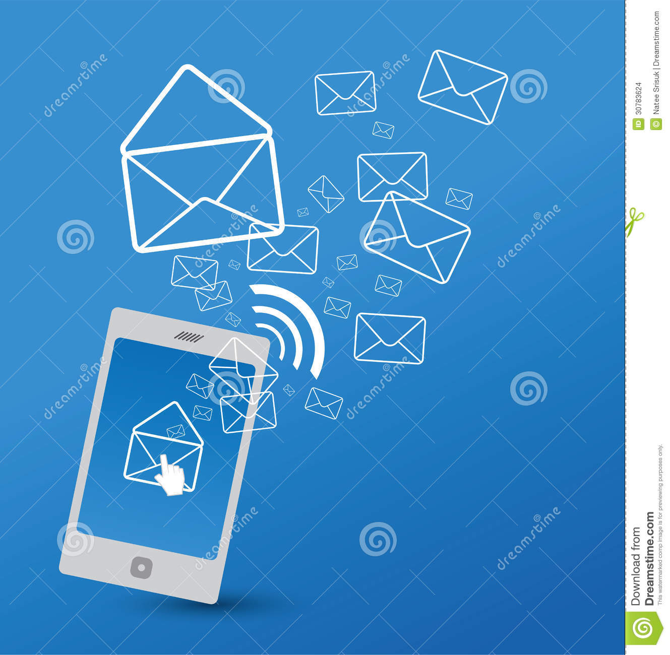 Royalty Free Stock Photo Download Sending Sms