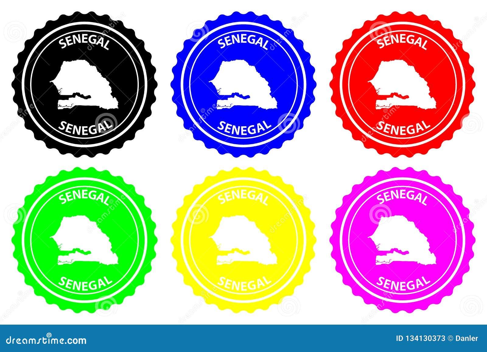 Senegal rubber stamp