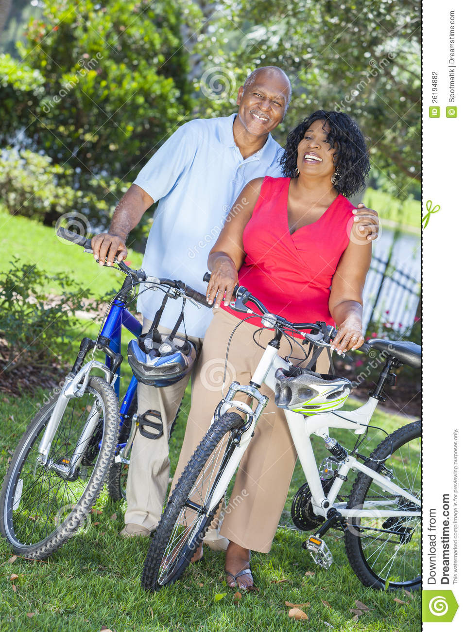 Bikes For Senior Women Senior African American Woman