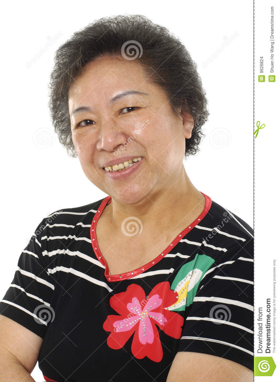 Asian lady portrait