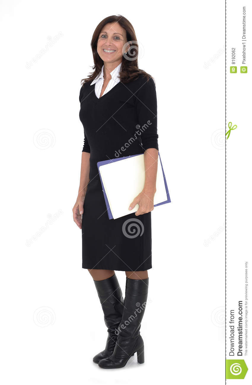 Senior Business Woman Stock Photo Image Of Businessperson