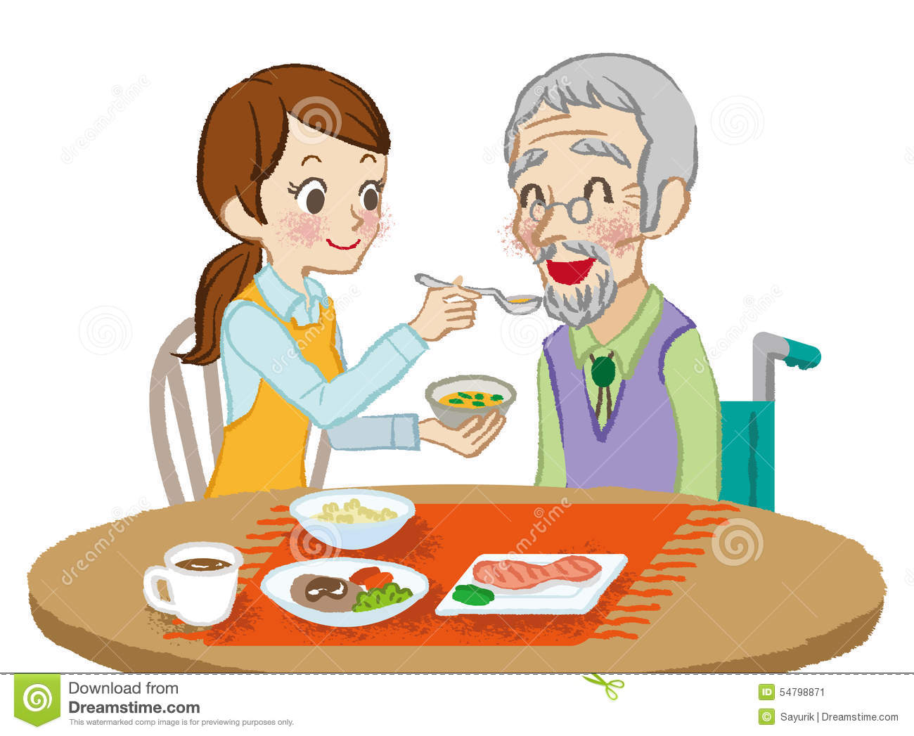 senior care meals stock vector image 54798871 wheel clipart images outline wheel clipart cartoon