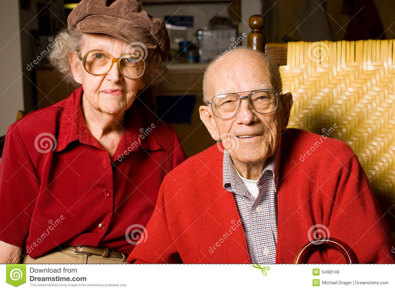 Senior Citizen Couple