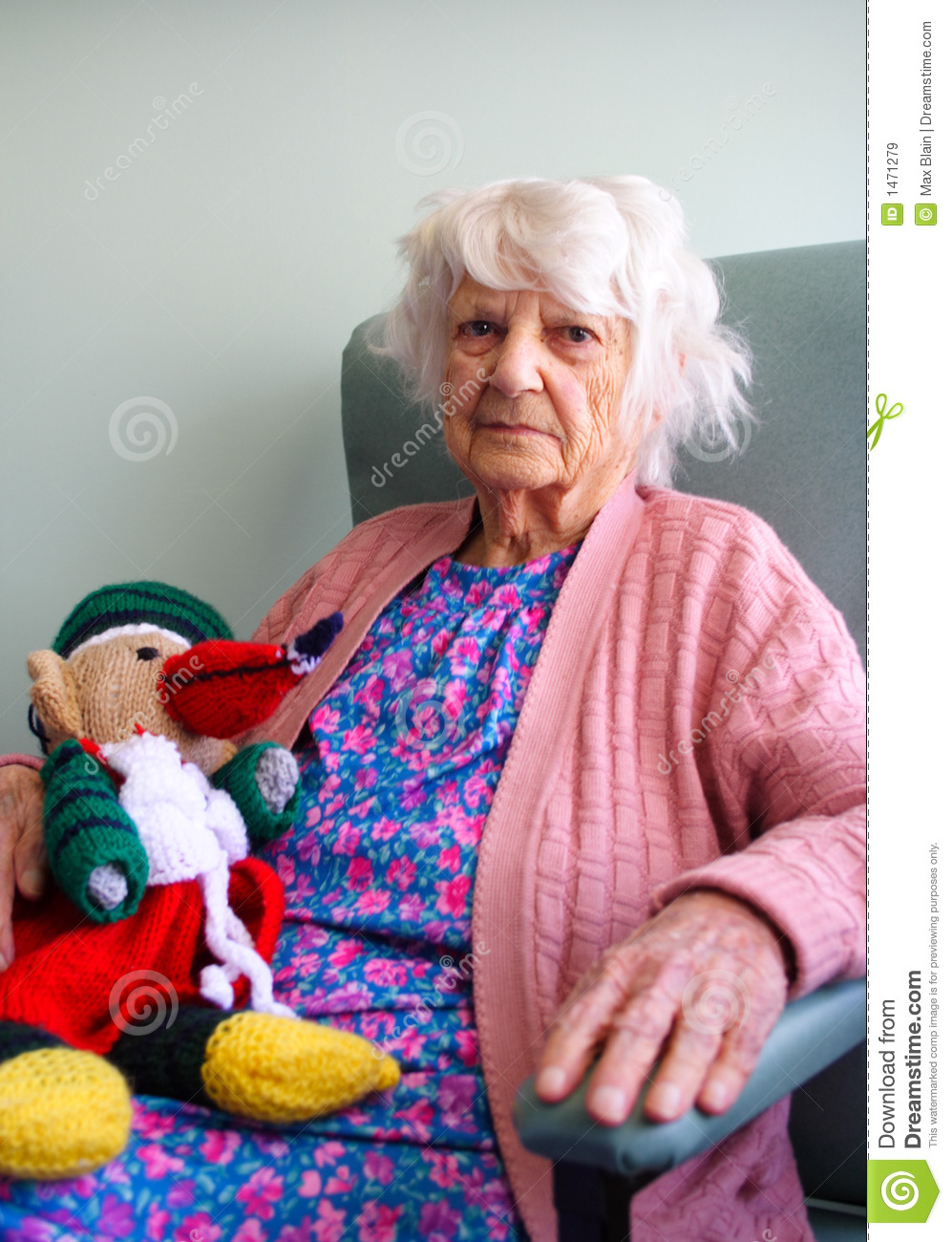 Toys For Elderly : Senior citizen with toy royalty free stock images image