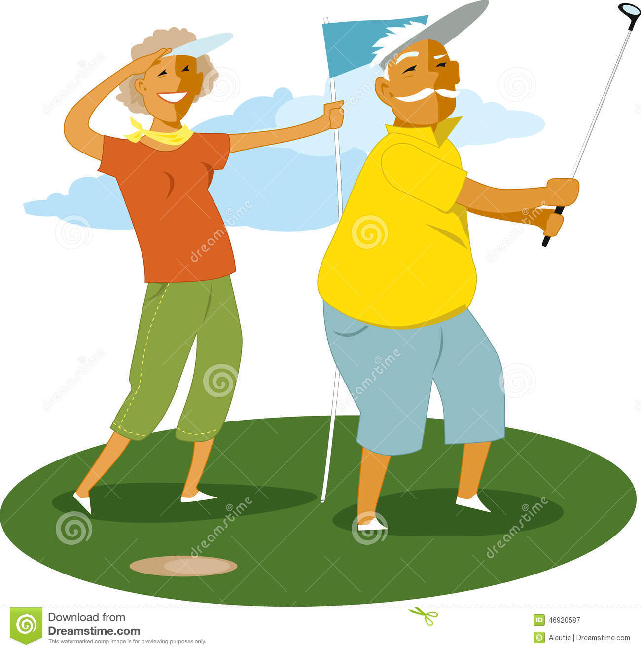 Cartoon pictures of women golfers 40 Different Types Of Fishes In World and Their Specialties Styles