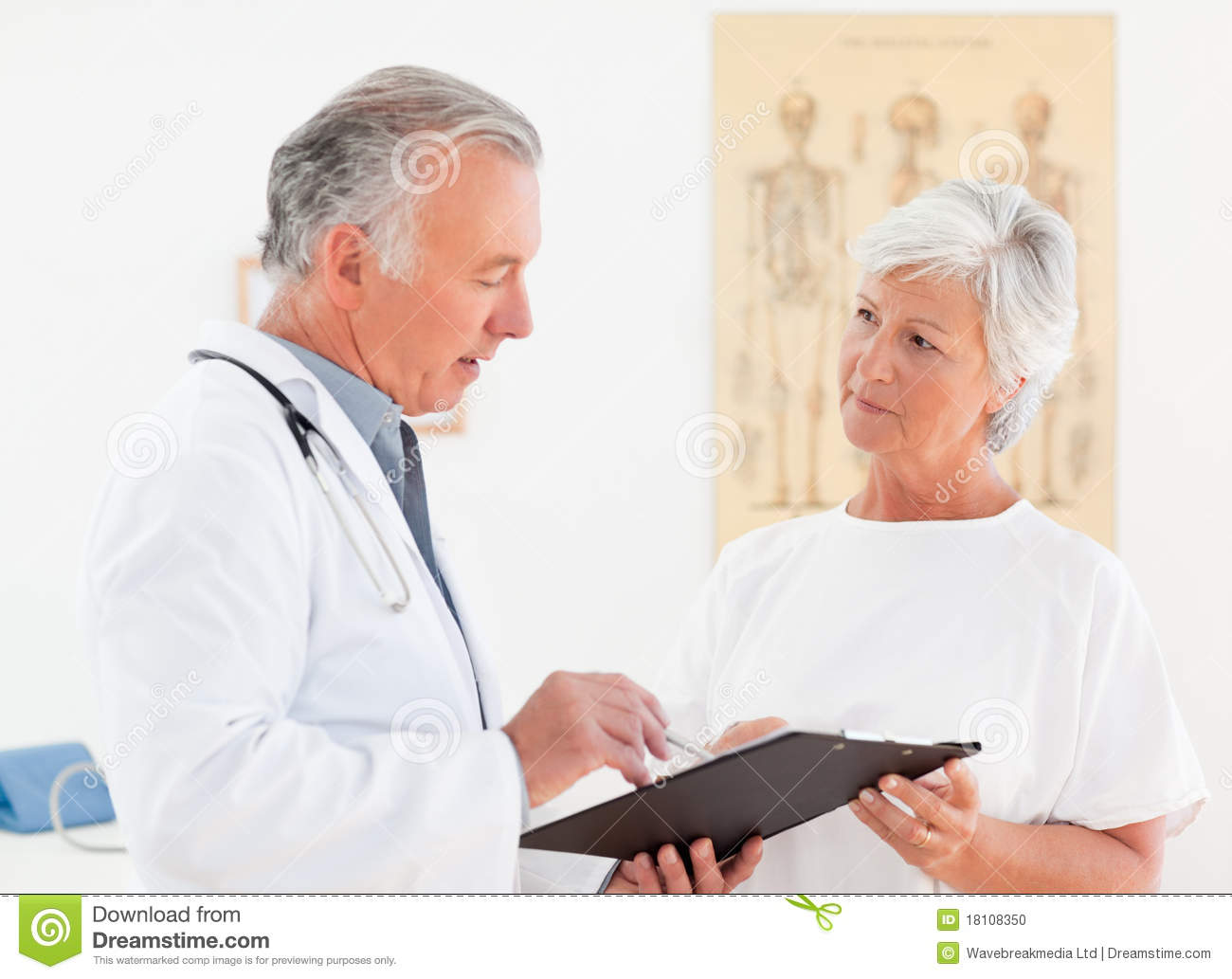 Sick Patient Pic : ... Doctor Talking With His Sick Patient Stock Photo - Image: 18108350